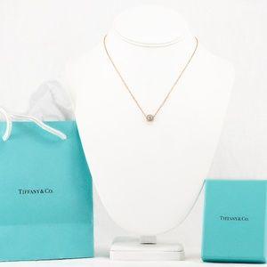 T&Co. Enchant Flower Diamond Pendant Necklace